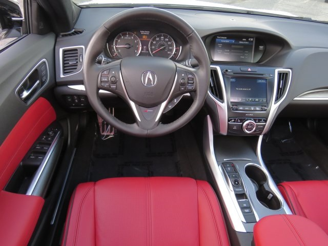 Acura Tlx Interior >> New 2020 Acura Tlx V 6 With A Spec Package And Red Interior With Navigation
