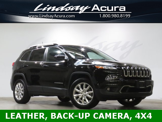 Pre Owned 2017 Jeep Cherokee Limited 4d Sport Utility In Columbus P18739a Lindsay Acura