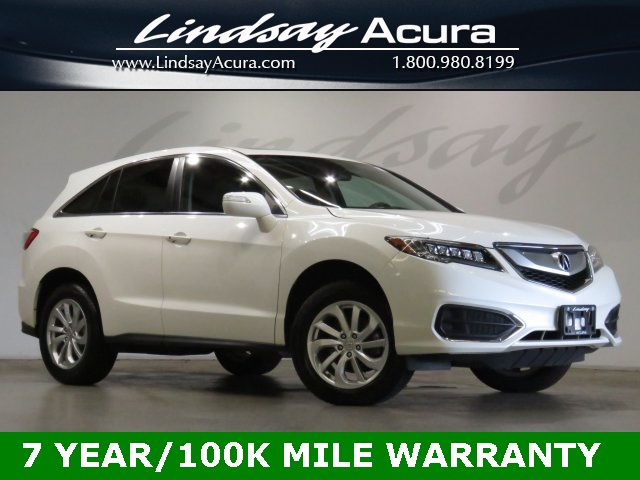 Certified Pre Owned 2017 Acura Rdx Awd