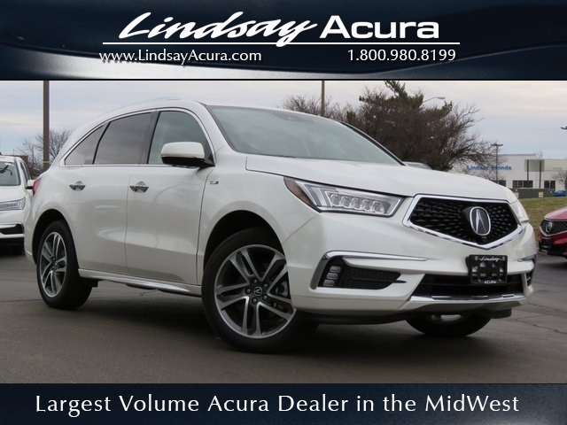 New 2018 Acura Mdx Sport Hybrid Sh Awd With Advance Package